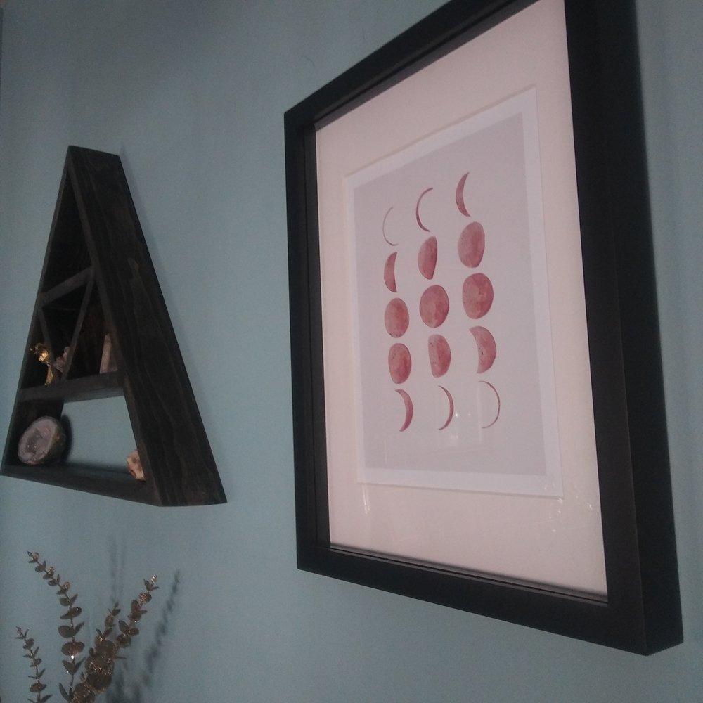 Life I Design Moon Print