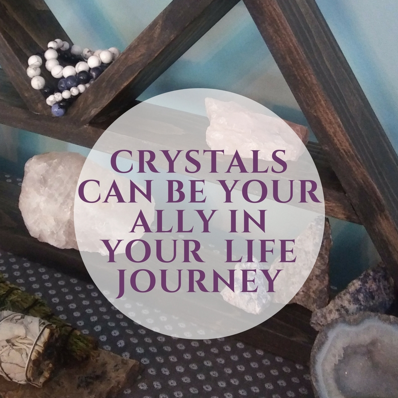 - Wearing a crystal bracelet or meditating with a crystal won't suddenly make your ailment go away. Crystals can be used like an ally on your journey - your journey through different stages in your life or a spirtual journey. Like a new fitness regime, you need to put in the work and be consistent and take the time to see results.Crystals can be a great way to physically show your clear and explicit intentions and help support your goals. You can be intentional with what gemstones you wear or which minerals you place around your house - and they can be reminders to support those intentions. Call it a placebo effect or the power of suggestion, if you view them as a tool to help you relax and find balance, they'll probably help you do just that.Grab a crystal, put on a gemstone bracelet,and feel the good vibes for yourself!