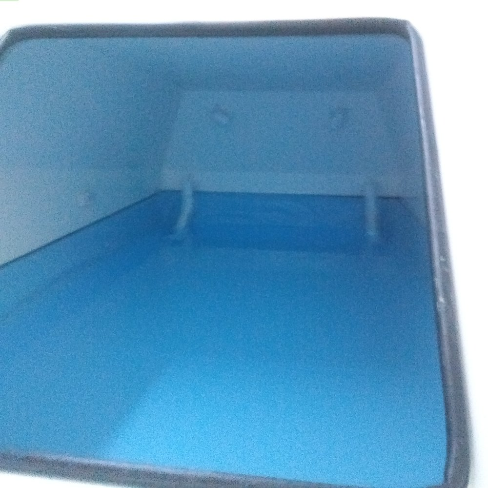 Inside the float tank