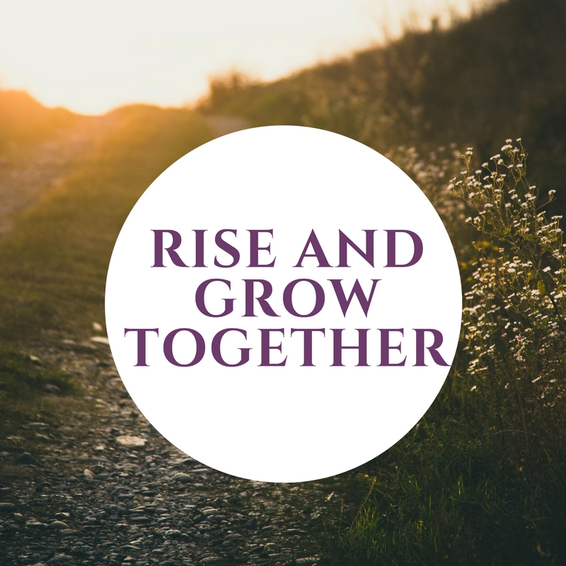 4. Rise and grow together - As a woman, you can be in completion and compare yourself and judge yourself to other women. Or we can come together, thrive together, lift each other up, and grow together. How magical that Tina's event is called RISE as I feel that is what we collectively do as a group in each session. It is sisterhood at it's finest!