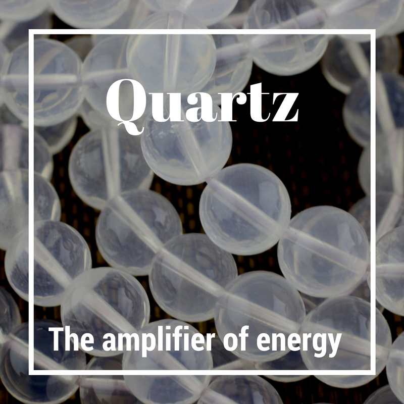 Quartz- The amplifier of energy - Rose quartz, smoky quartz, clear quartz! The most abundant mineral on the earth's surface, quartz is here to help provide clarity and amplify positive energy.