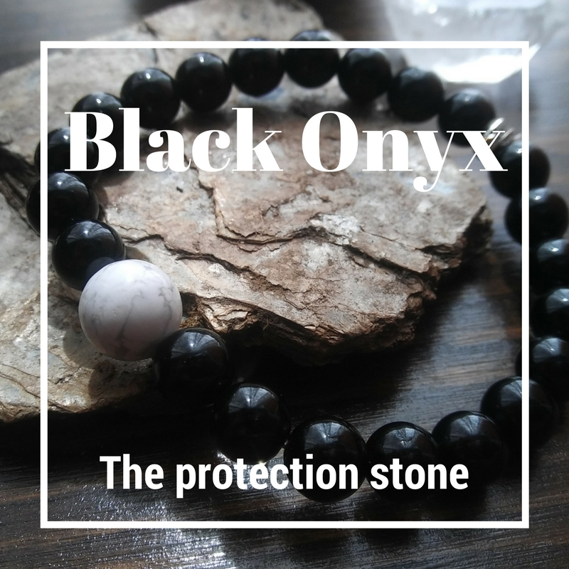 Black Onyx - the protection stone -