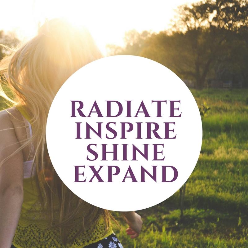 RISE Radiate, inspire, shine, expand