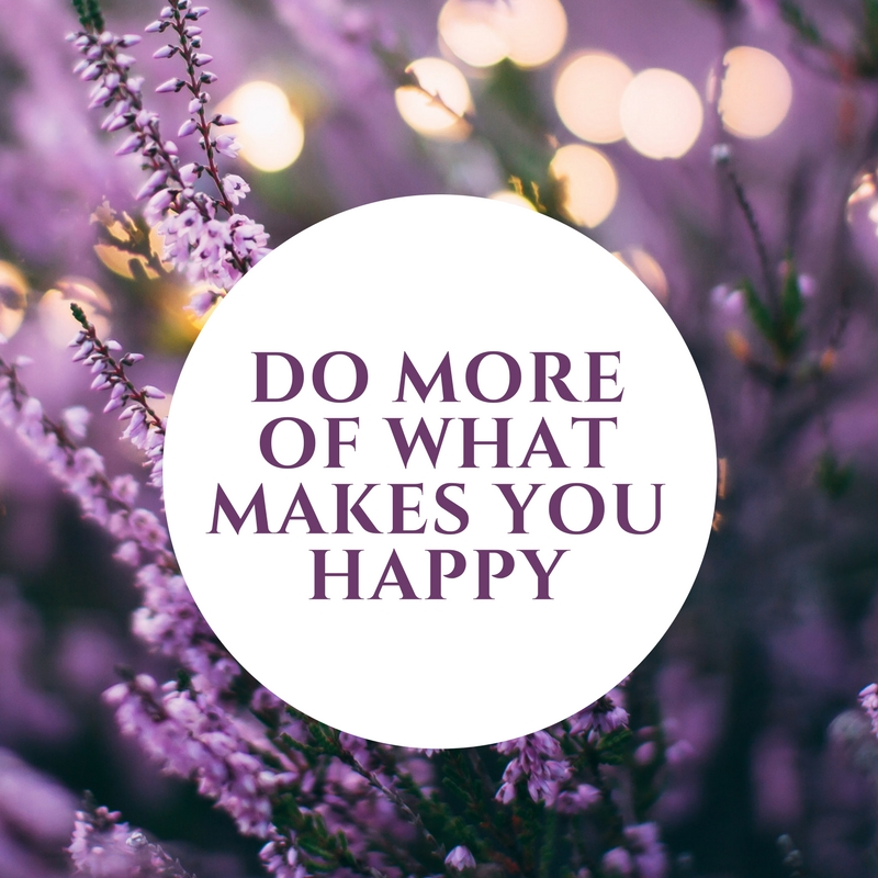 Do more of what makes you happy - and encourage others to do that same - I really turned this full blast in 2018 and I don't plan on turning down that dial any time soon! I have always liked rocks - so I took a crystal course, joined my local gem and mineral club and started attending monthly meetings. I have always wanted to a Tibetan singing bowl - bought one! And my happy list goes on and on!Have you written down things that make you happy? Things you want to try or learn? Get to know yourself better and get into the habit of cultivating your interests. Take classes and workshops! Go to the library and get some books! And be present and mindful in the small daily activities that bring you happiness too. Make time for happiness and show in your actions that your happiness is valuable - if you don't, no one else will.Do things that bring you happiness daily and also recognize what brings others happiness too - get excited with them, support them, and encourage them! I think this is especially important in romantic relationships. Treat others like you want to be treated, inspire and encourage each other to be better people, and grow together.