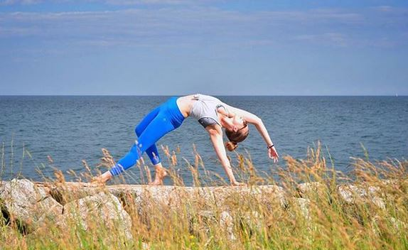 Wild Thing by Toronto's yoga star, Darya