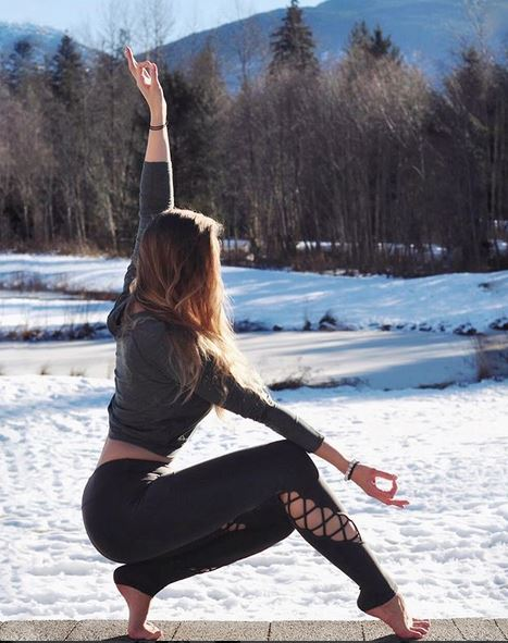 In BC, Toronto's yoga darling, Darya