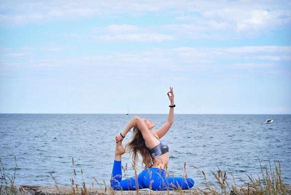 Toronto's yoga darling, Darya