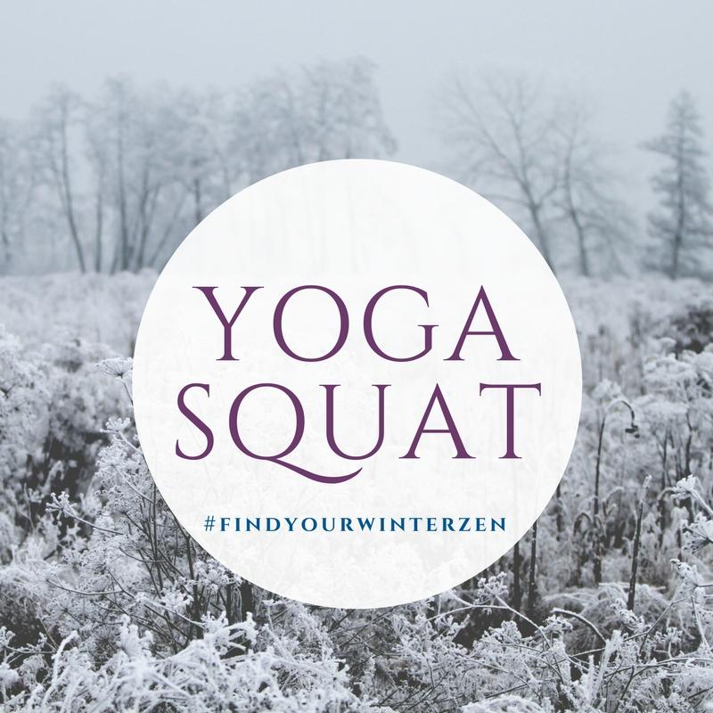 1. Yogi squat -