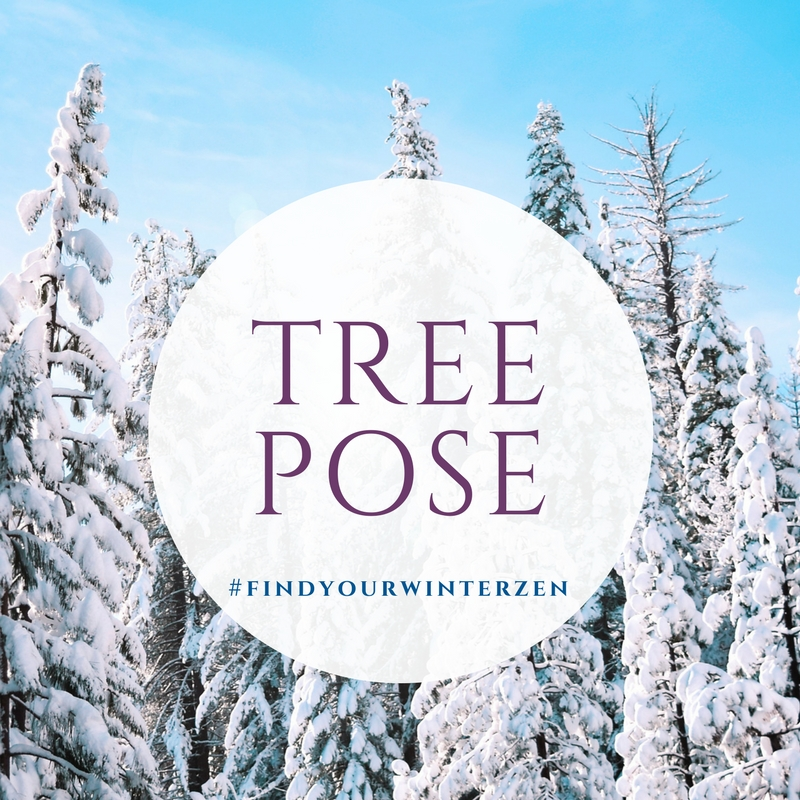 2. Tree pose -