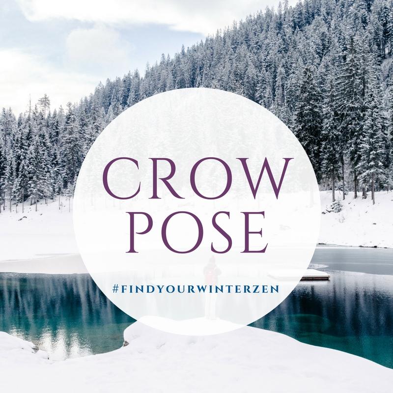 4. Crow pose -