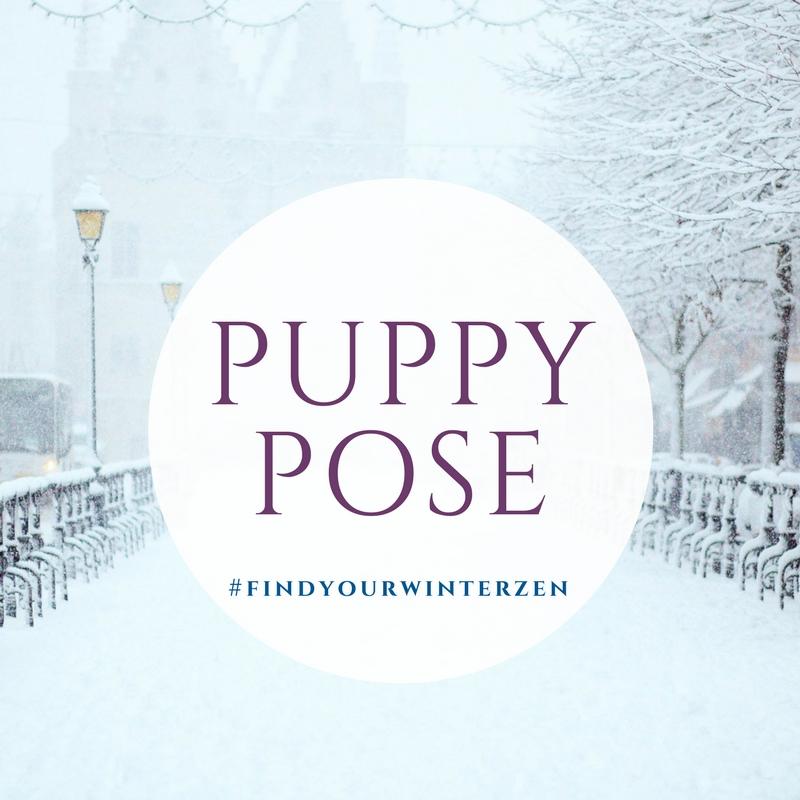 5. Puppy pose -