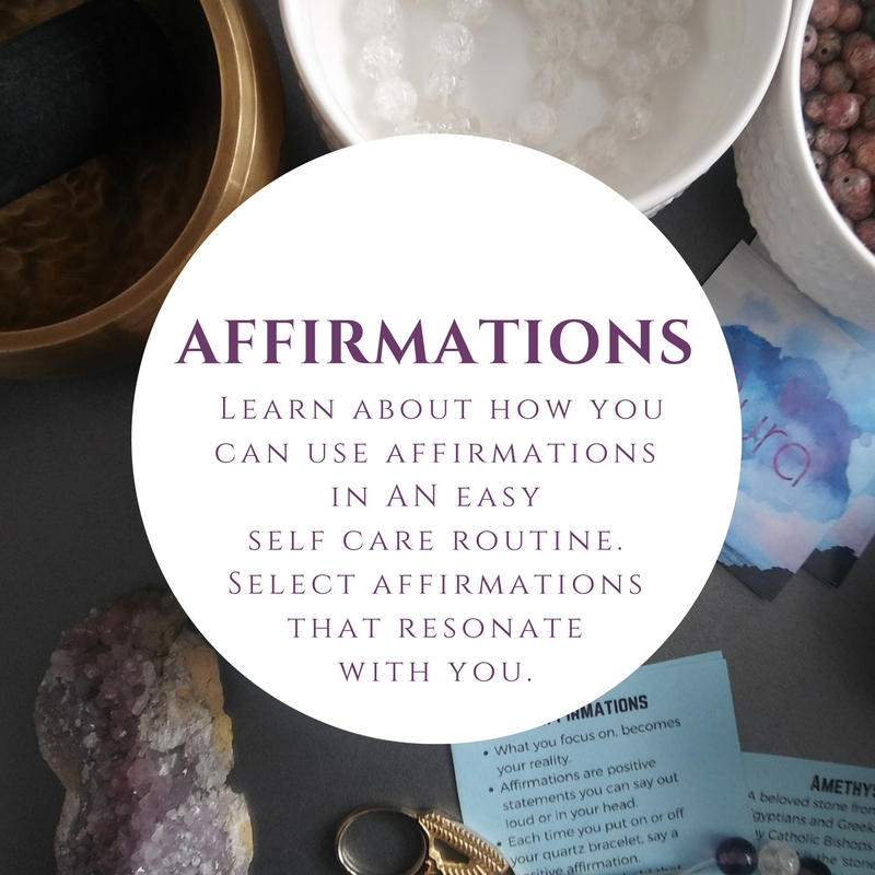 Affirmations - I went from average student to getting my Masters degree on a full scholarship. Two natural childbirths. Couch to half marathon. Manifesting my dream job. I know first hand about the power of affirmations and I am excited to share how you can implement them into a daily routine!Affirmations are positive statements phrased in the present state. So instead of 'I wish I could find a new job', try 'I am open to new opportunities and am manifesting my dream job.' Instead of 'Ugh, I want to look like that model', try 'I am beautiful and unique. I love and accept myself unconditionally.'After learning about what they are, what makes a good one, and the law of attraction, you will be supplied with a variety of affirmations. With this new knowledge, select or construct affirmations that resonates exactly with what you need to hear on your current journey.