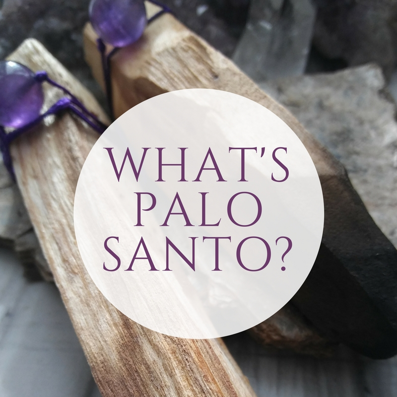 What is Palo Santo? - The Spanish translation of Palo Santo is 'Holy Wood'. It is a a type of tree native to South America and is in the same family as frankincense and myrrth. This wood has a smoky scent of mint, citrus and pine. It's use dates back to the Incas who used it for it's purifying properties. It is said to provide an uplifting scent that raises your vibration in preparation for meditation and helps clear away negative and stagnant energy from you and your space. It also acts as a natural insect repellent and is great to take with you when you go camping or will be sitting outdoors. Our Paolo Santo is from sustainable farms in Peru.