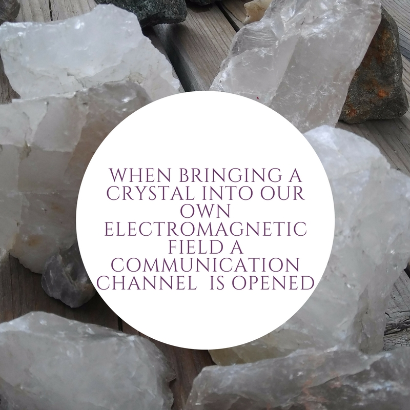 Crystal Power - To start, let's review some basics about crystal energy. Minerals have an ordered atomic arrangement which means they have an internal crystalline structure. If you were to cut a mineral sample, it would look the same throughout. All minerals vibrates at a certain frequency. If you are sensitive to energy fields or are an empath, you may feel the energy or feel a tingle when you first pick up a crystal or wear one for long periods of time. It is believed that our atoms, electromagnetic field, or auras are harmonized by interacting with the unique symmetry of crystals.Crystals emit their vibration but it is also believed that they can absorb energy or be weakened from deflecting and pushing away energy. Just like a battery, they can benefit from a recharge!More on crystal energy and metaphysical properties in this blog post.
