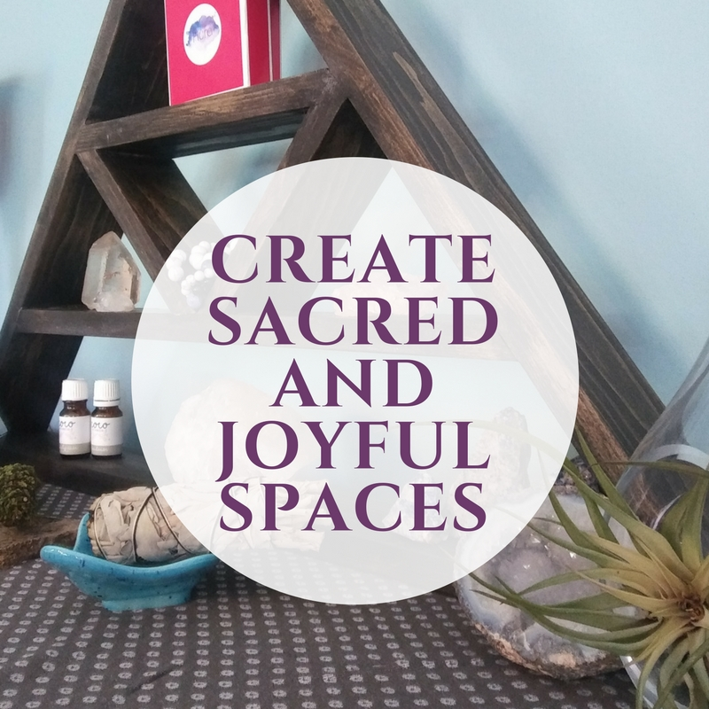 2. Your space should boost your engery, not drain it! - The energy of your space can help boost your personal energy.  De-clutter, fill your space with things that spark joy, add crystals and plants to your space, make a sacred alter, smudge all the stagnant and negative energy out of your space  (read more about using Paolo Santo here), and play mantras and happy music (my daily playlist is here).Take a look at the four places you spend the most of your time. Is it the kitchen? Your bedroom? Your desk? Give each of these four a refresh and your energy and mental health will benefit.