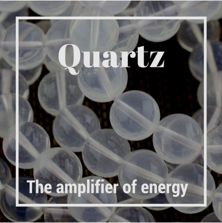Clear Quartz - The most abundant mineral on the earth's surface, quartz is here to help provide clarity and amplify positive energy. Clear Quartz is also known as Crystal Quartz or Rock Crystal. According to the authors of