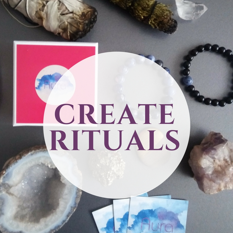 Create a Full Moon ritual - It's all about creating a ritual that speaks to your heart - something that you can repeat with each cycle and find a deep connection with.Some things you could include:-Wear your Aura gemstone bracelets.-Set intentions for the next cycle.-Decide on what affirmations you will use daily.-Purge both mentally and physically. Clean your space, get rid items, and write down things that are no longer serving you and burn them.-Use sage and Paolo Santo.-Put your crystals out in the moonlight to cleanse.-Make a Full Moon crystal grid - use some of the crystals listed above! Now go get that summer magic....Blessed Be!