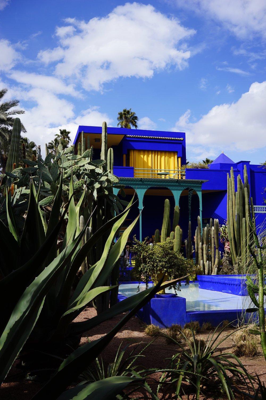 jardins majorelle ที่ที่เราชอบที่สุดในmarrakech