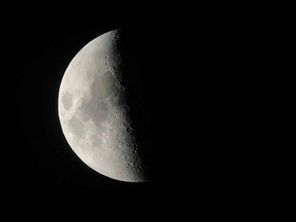 ออกไปนอนชมดาว แต่พระจันทร์ใหญ่และสว่างมากกกกกกกกก