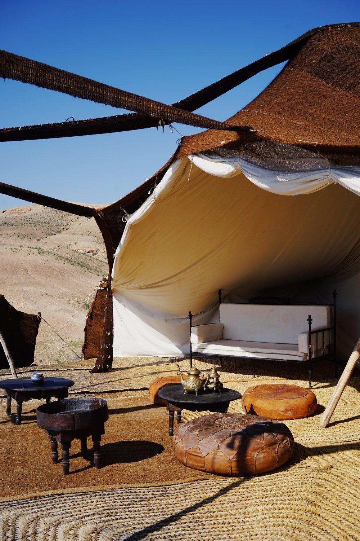 เต้นท์ที่ได้แรงบรรดาลใจมาจาก Berber