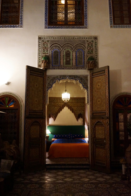 Riad หรือบ้านเก่าที่ถูกนำมาปรับปรุงให้เป็นโรงแรม