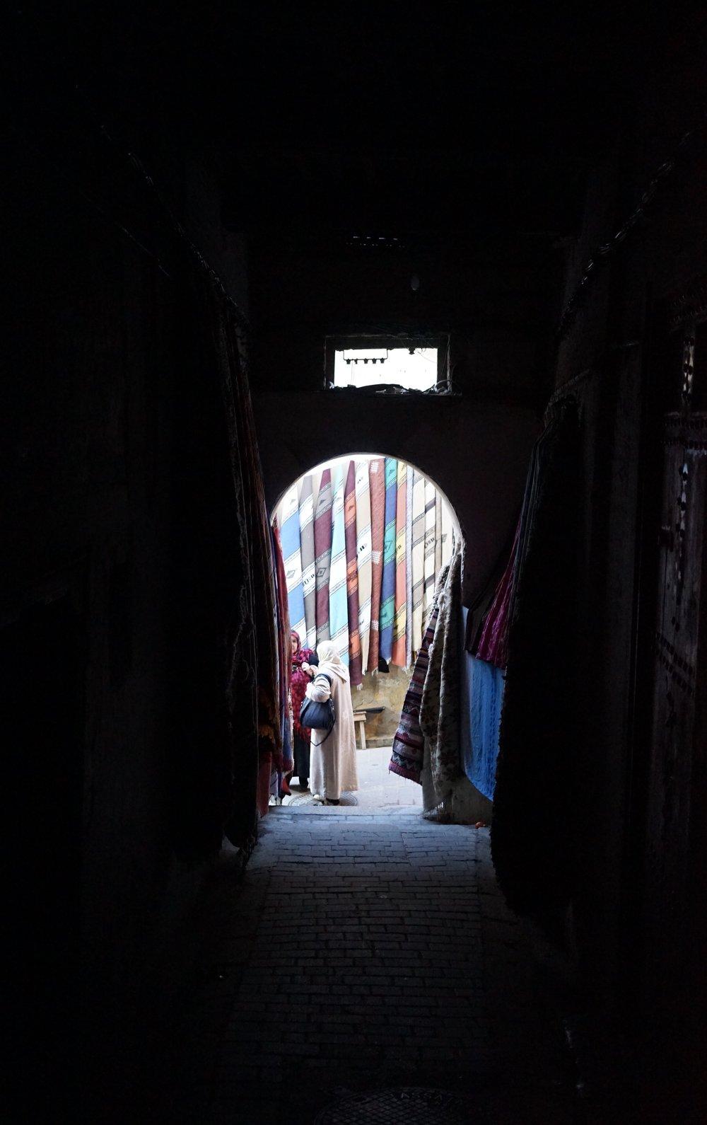 ตรอกซอกซฮยในเมือง Fez