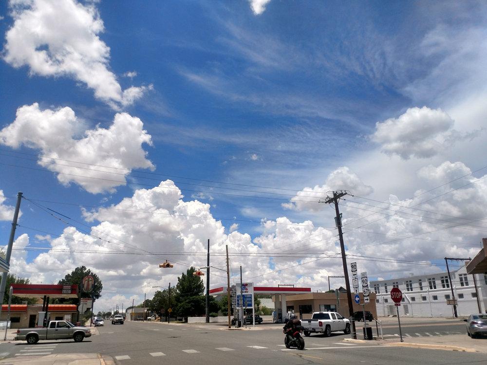 San Antonio & Highland Ave.Marfa, TX.