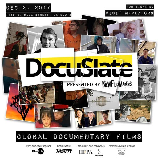 DocuSlate, presented by NewFilmmakers Los Angeles in partnership with the International Documentary Association (IDA)
