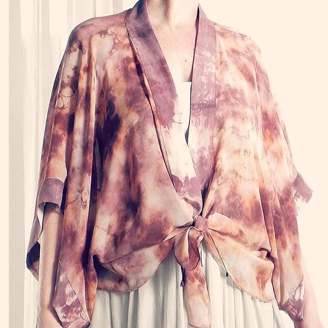 Flashing back on this resist-dyed piece from 2012. . . #flashbackfriday #flashback #handdyed #resistdyed #slowfashion #designermaker