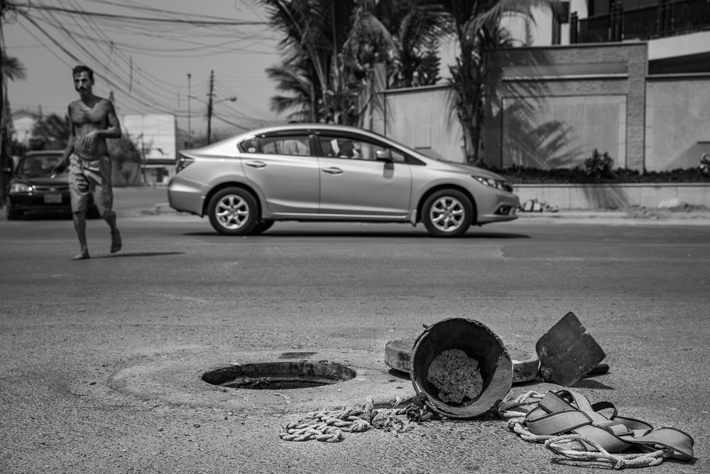 The series follow the life of sanitation worker William Javaid, giving us a glimpse into a world that exists below our streets. Click   here     for full story.