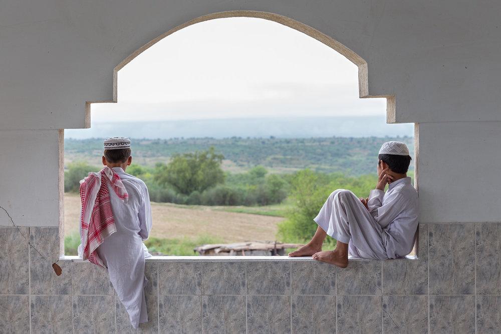 Madrasa Students Jamia Talagang, Lahore, 2016
