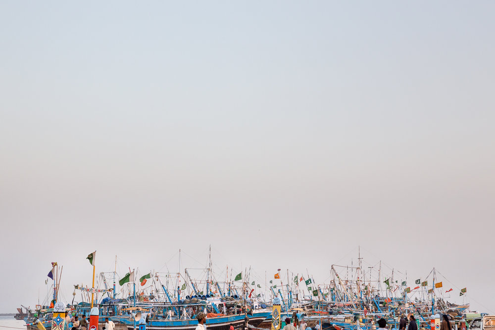 Band of boats, Ibrahim Hyderi, Karachi