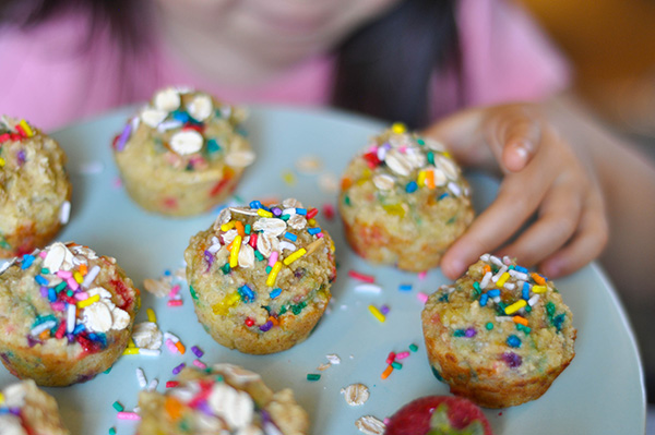 Healthy Banana Oat funfetti muffins Little Hands.jpg