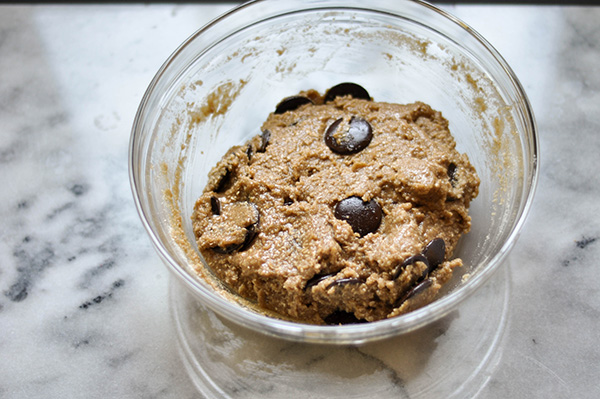 Decadent Gluten Free Vegan Chocolate Chip Cookies_ dough.jpg