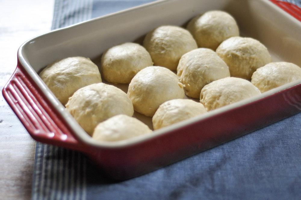 Everything Bagel Brioche Rolls_dough balls angled.jpg