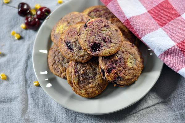 Cherry Swirled Corn Cookies_ plated.jpg