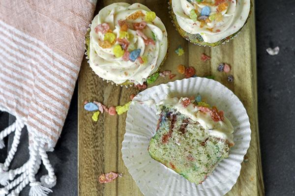 Fruity Cereal Funfetti Cupcake_Cut Open_Overhead.jpg