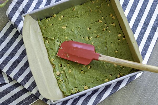 Matcha Butterscotch Franken-spread in pan.jpg