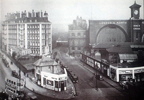 Old photo of King's Cross