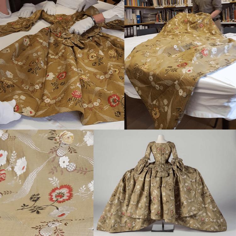 The Linley Mantua 1770s