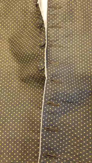Men's waistcoat 1770s