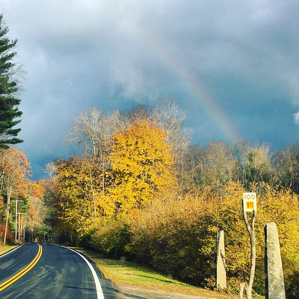 Foliage season in the Berkshires