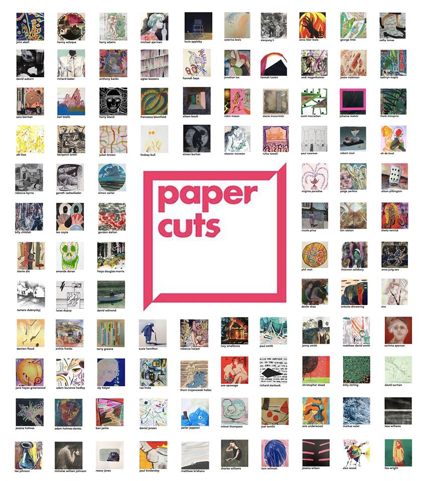 Paper Cuts curated by Kris Day