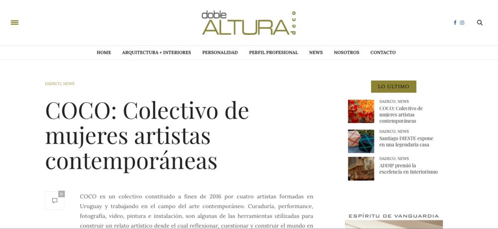 Revista Doble Altura Deco