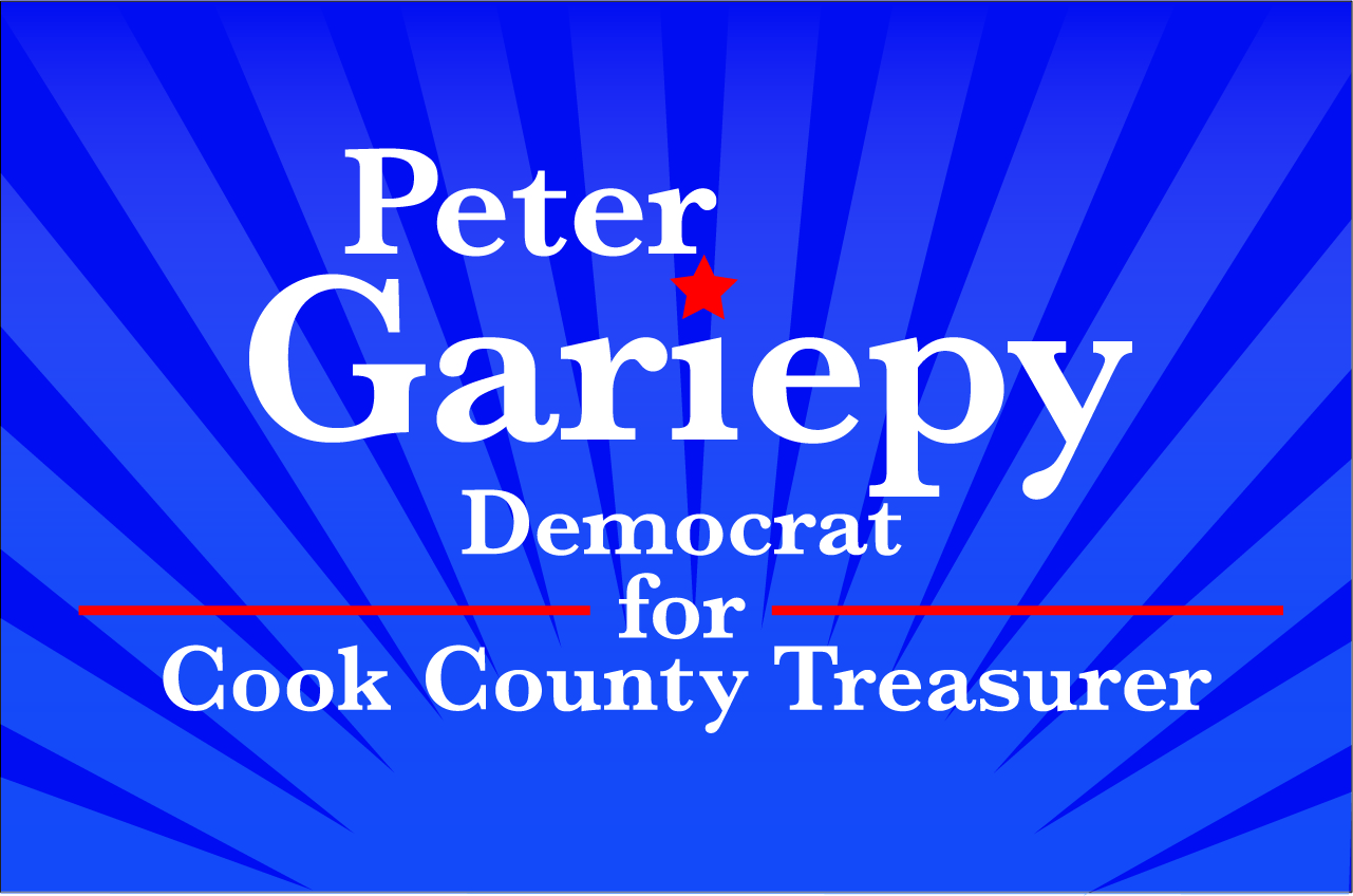 Peter Gariepy for Cook County Treasurer