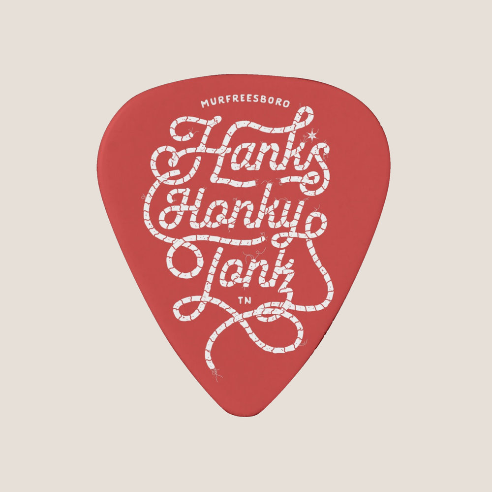Hank*s Rope Guitar Pick | Prices Vary