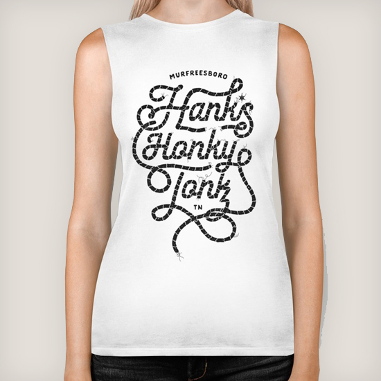 Hank*s Black Rope Sleeveless | $28.00