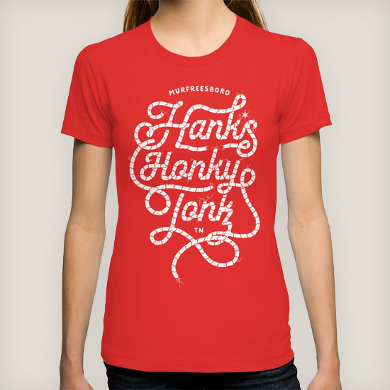 Hank*s White Rope Women's Tee | $24.00