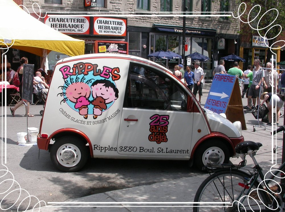 Montreal's Coolest Ice Cream Car