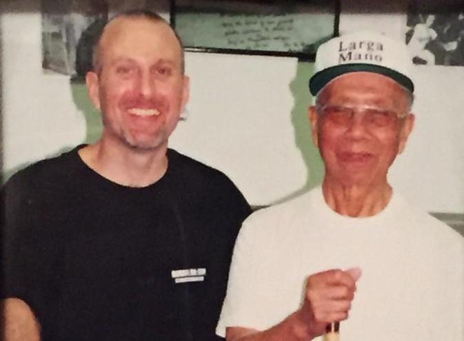 Master Kirk McCune and GME Leo Giron.